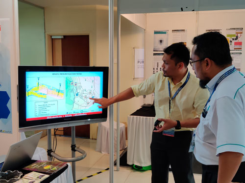 Kertih, Malaysia: Sofoil team at Regional Surveillance OPEN DAY 2019